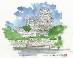 姫路城の絵