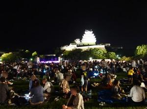 9月13日(金)の姫路城・観月会に吟詠出演(琇悠会)予定