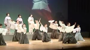 歌謡扇舞「白虎隊」1)