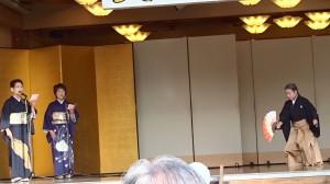 吟詠と舞「祝賀の詞」摂楠流理有志2018総社霜月祭 (3)