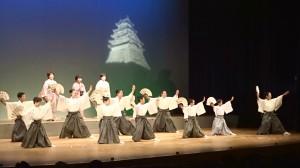 歌謡扇舞「白虎隊」宮野、山田紫、小林慶20181125 (3)