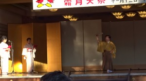 詩舞「水戸八景」山本寿、中尾(雅城)桃2018霜月祭