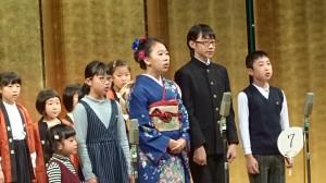 7幼少年吟詠「朱熹の偶成」摂楠流20181125 (2)