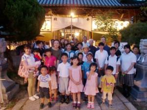 .7H27天神社の夏祭り (1)