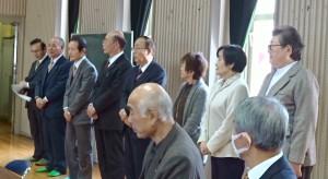 審査部役員紹介・中尾審査部長 (左から2人目2) (1)